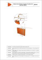 Detalles constructivos. Instalaciones de gas. Batería de botellas de gases licuados del petróleo (GLP)