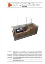 Detalles constructivos. Instalaciones de gas. Equipo de protección catódica, para depósito de gas licuado del petróleo (GLP), enterrado