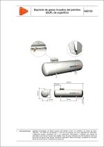 Detalles constructivos. Instalaciones de gas. Depósito de gases licuados del petróleo(GLP), de superficie
