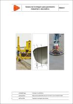 Detalles constructivos. Pavimentos industriales, juntas y sellados. Solera de hormigón para pavimento industrial o decorativo.