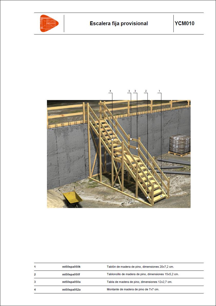 Detalles constructivos protecciones colectivas - Valla seguridad escalera ...