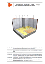 Sistemas de impermeabilización. Sistema Dry80 REVESTECH, para impermeabilización de cubiertas planas